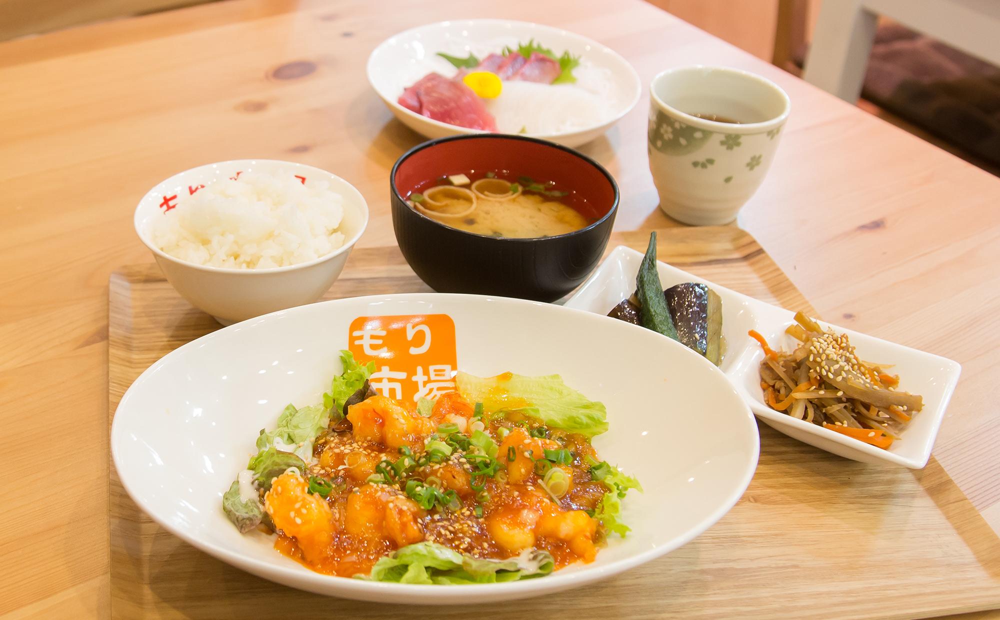 もりICHIBA食堂